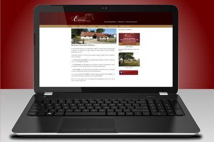 Site Ecuries d'Estran (Wordpress)
