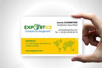 Carte de visite Exportice