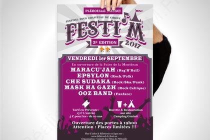 Affiche Festival Festi'M