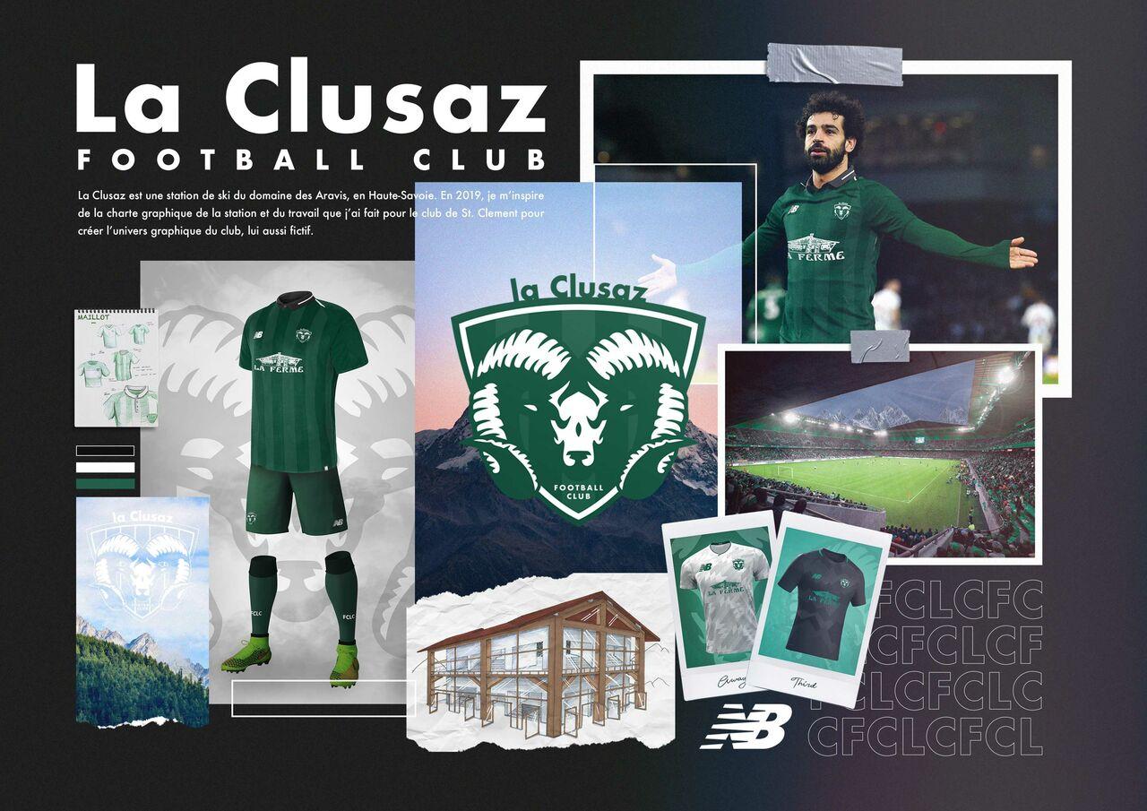 Planche de présentation d'un club de foot fictif 2