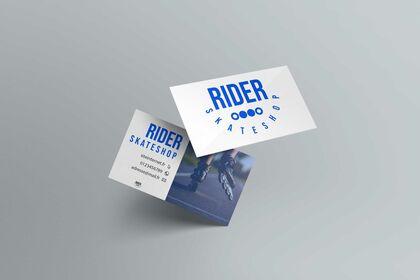 Logo RIDER SKATESHOP