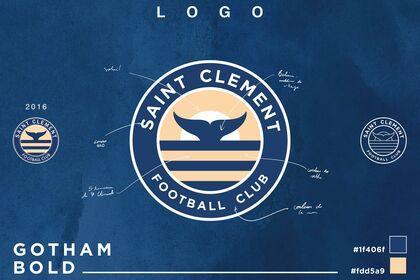 LOGO Saint Clément FC