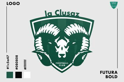 LOGO du FC La Clusaz