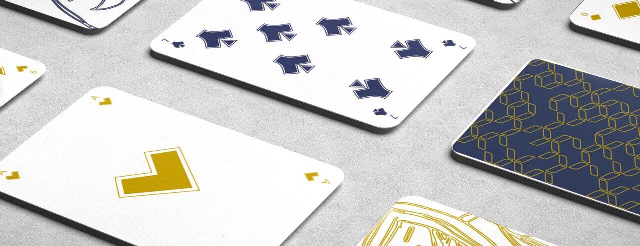 Design carte de jeux deluxe