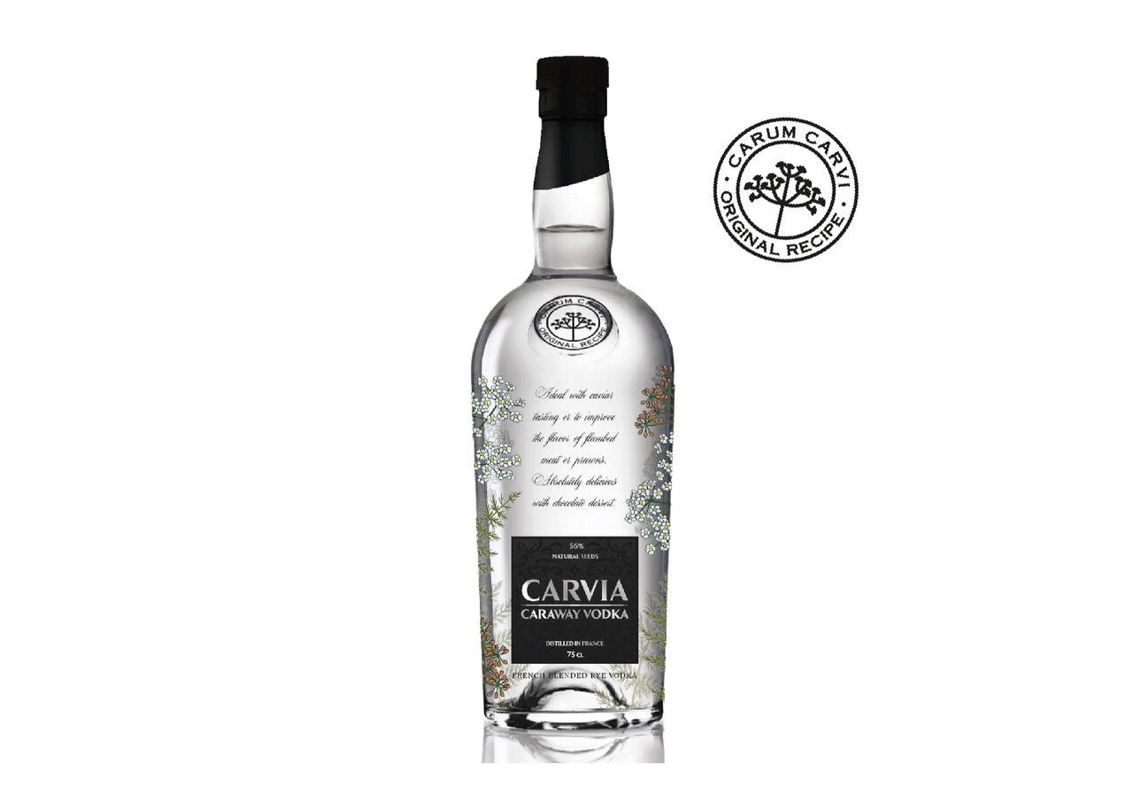 Vodka aromatisée / création étiquette et décor