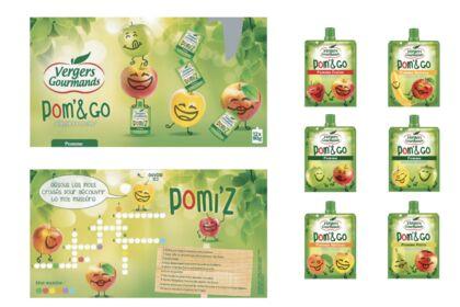 Compotes enfants / création packaging