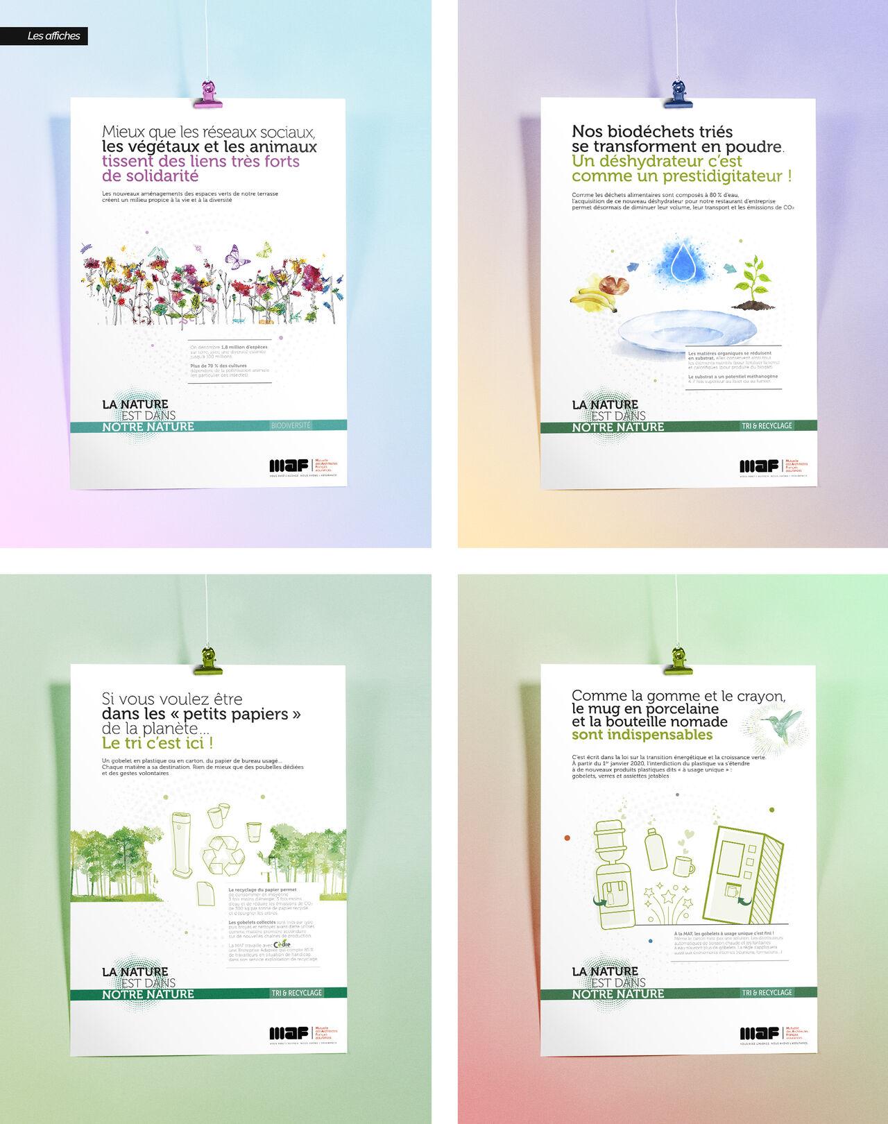 L'audacieuse campagne environnement MAF