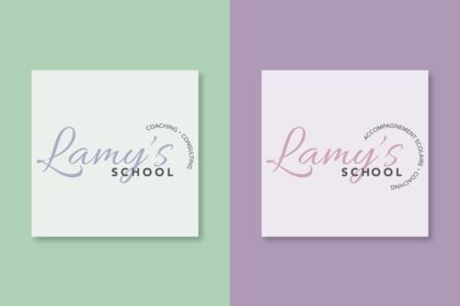Création de logo Lamy's School