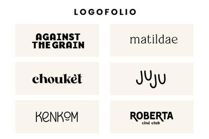 Logofolio - Plusieurs projets