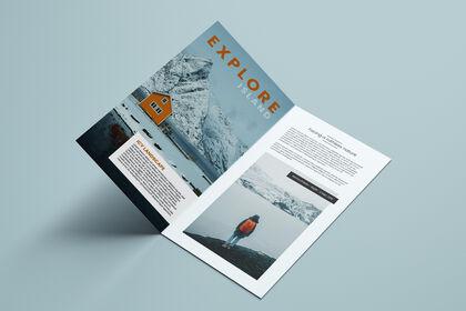 Brochure / Leaflet - Outdoor activity