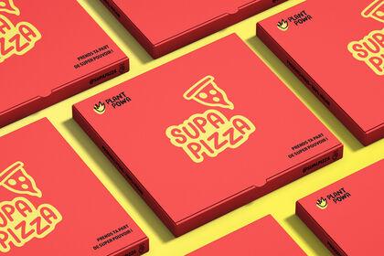 Boîte à Pizza - Supa Pizza