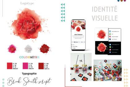 Logo et Identité visuelle Jade création