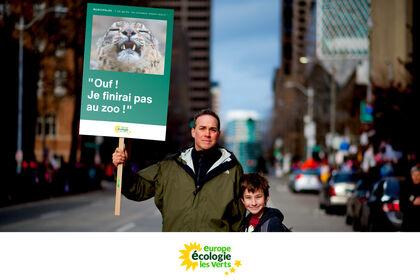 EELV : les animaux disent merci !