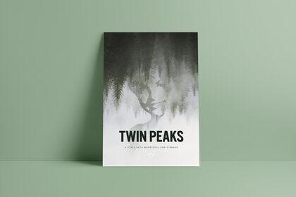 """Affiche fan art de """"Twin Peaks"""""""