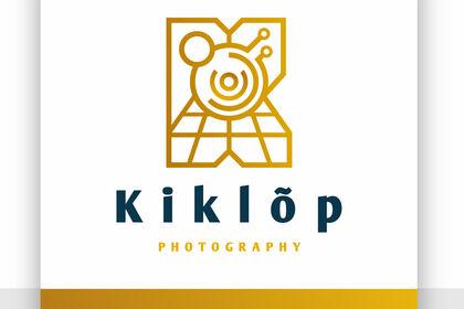 Création identité visuelle photographe Kiklop