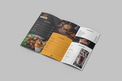 Keeler Burgers - Création du menu