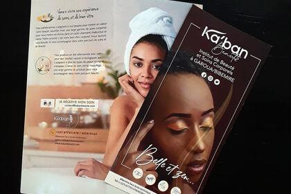 Brochure Ka'ban Beauté