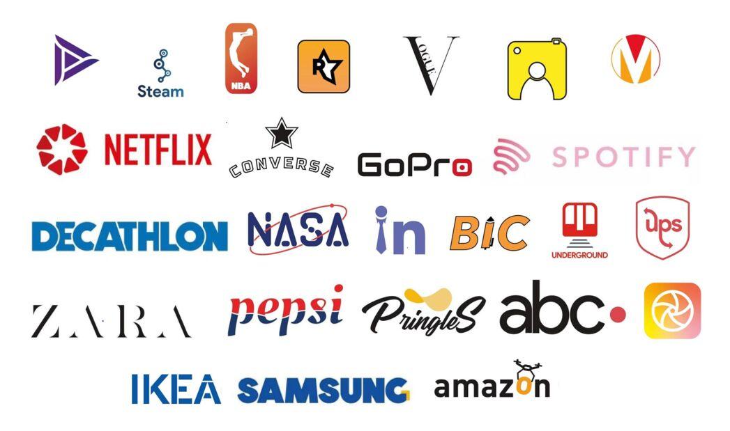 Revamped logos by Serif