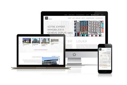 Brolliet - Refonte de site internet