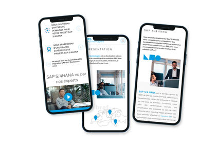 Neo technologies - Refonte de site internet