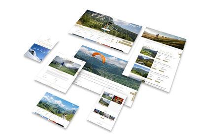 Park Gstaad - Réalisation de Landing Pages