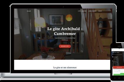 Site gîte Archibald