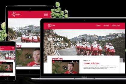 Site de l'équipe du Tour de France - Cofidis