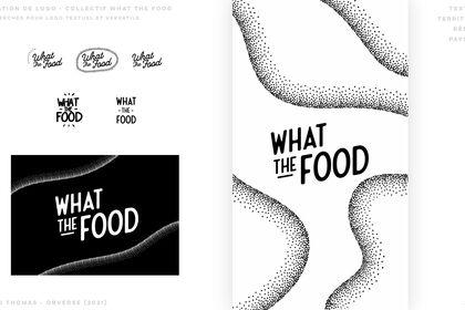 What The Food- Identité Logo