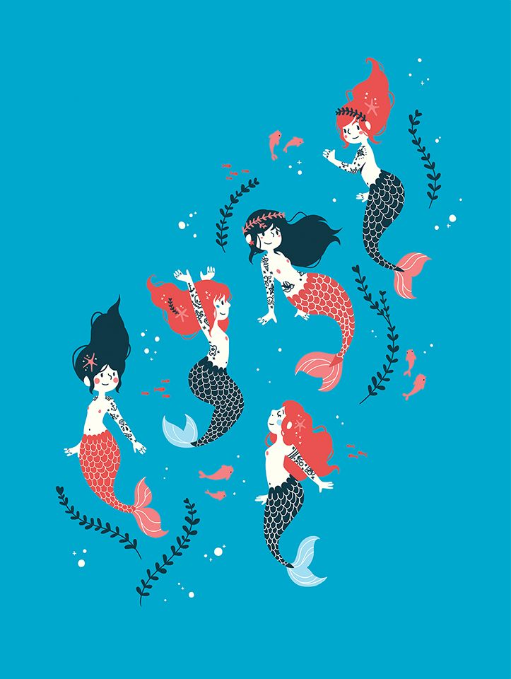 Tattooed Mermaids