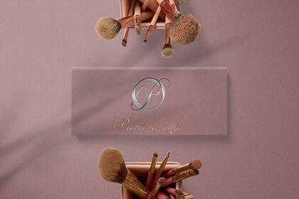 """Logo pour """"Plume sur Ongle"""""""