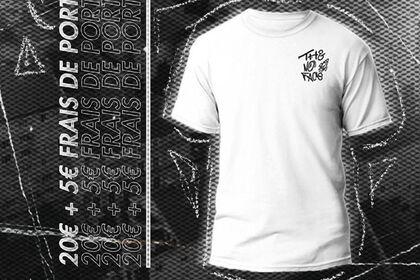 """Publicité pour le T-Shirt """"The No Face"""" de 691"""