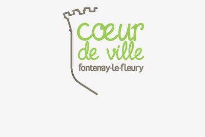 Logo Cœur de Ville - mairie de Fontenay-le-Fleury