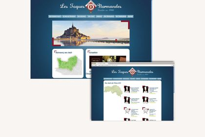 Site - Les Toques Normandes
