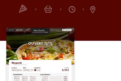 Pizzeria commande en ligne