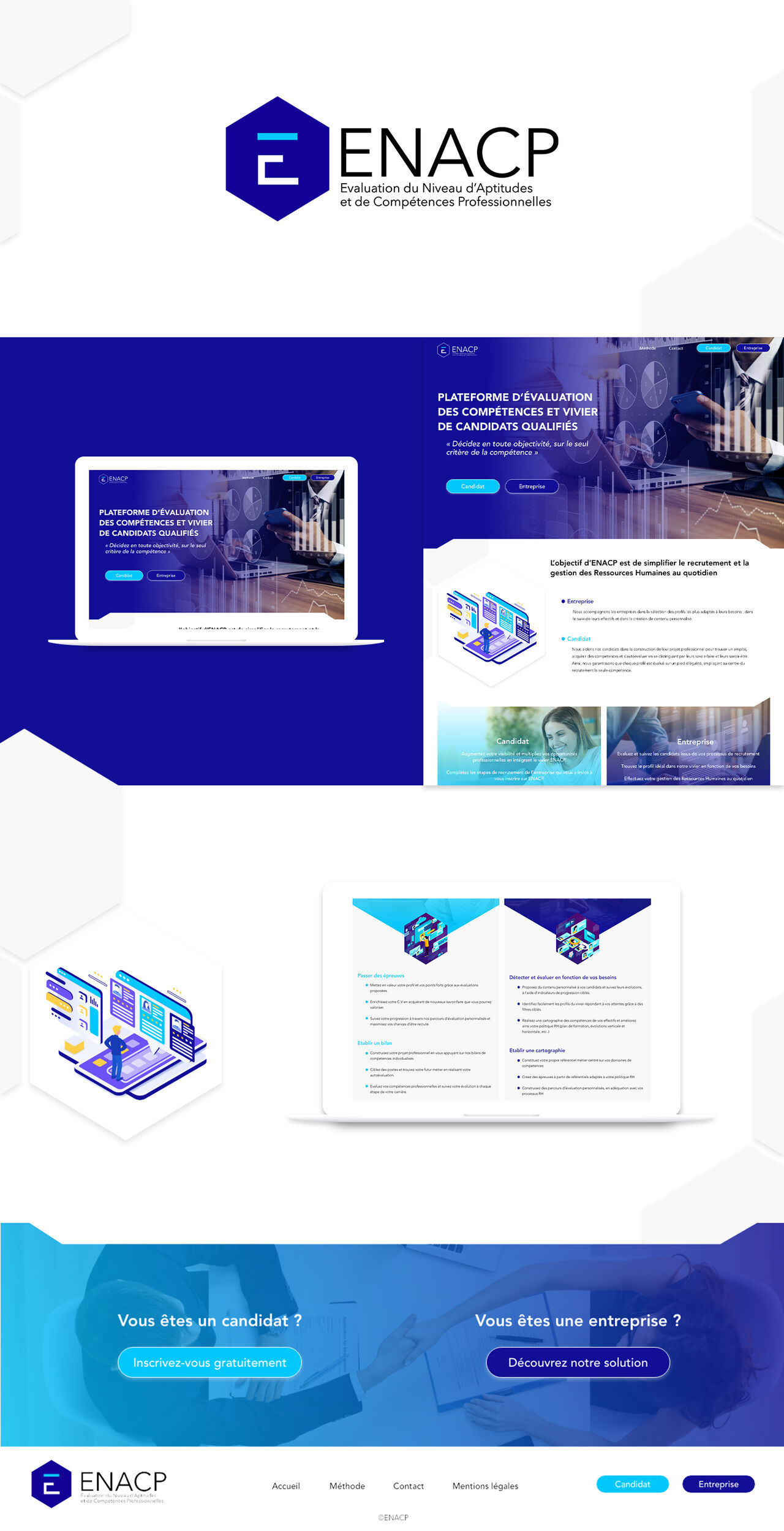 Logo et UI design
