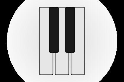 "Icône ""Piano/Musique/Synthé/MAO"""
