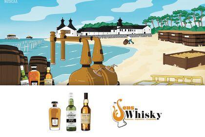 """COLLAB' avec """"Le sens du whisky"""""""