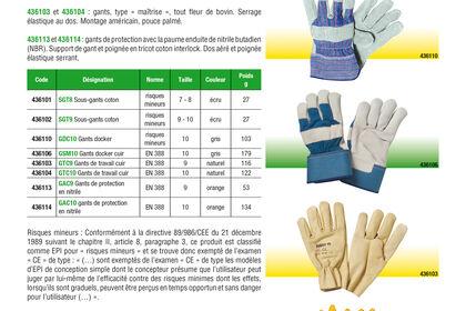 Catalogue Electricien