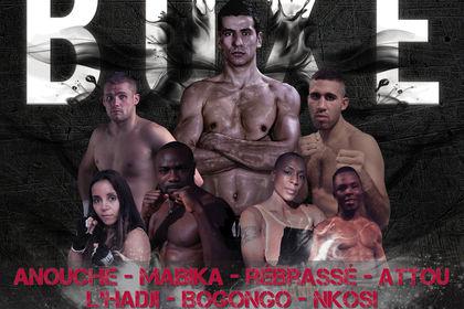 Affiche : annonces soirées de boxe 2
