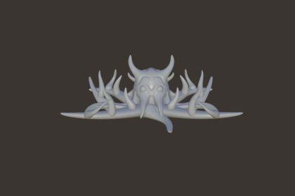 Modélisation grande pieuvre