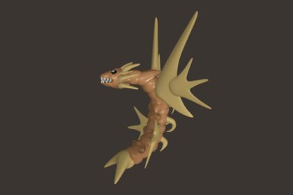 Modélisation dragon