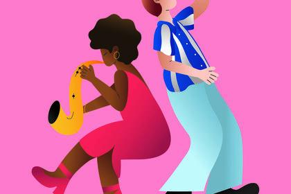 Illustration pour le Montreux Jazz Festival