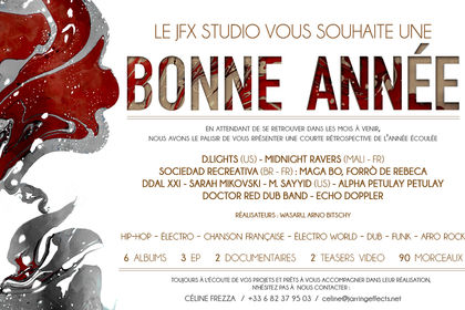 Carte de Voeux - STUDIO JARRING EFFECTS