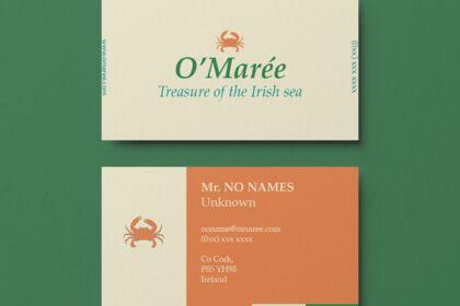 Carte de visite O'marée