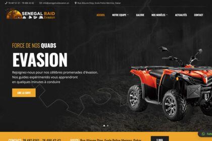 Site web de Senegal Raid Evasion
