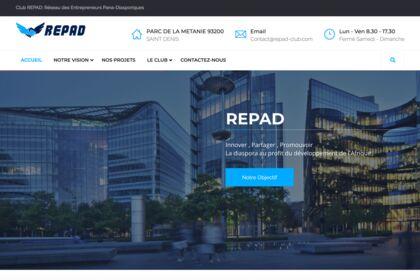 Site web de REPAD