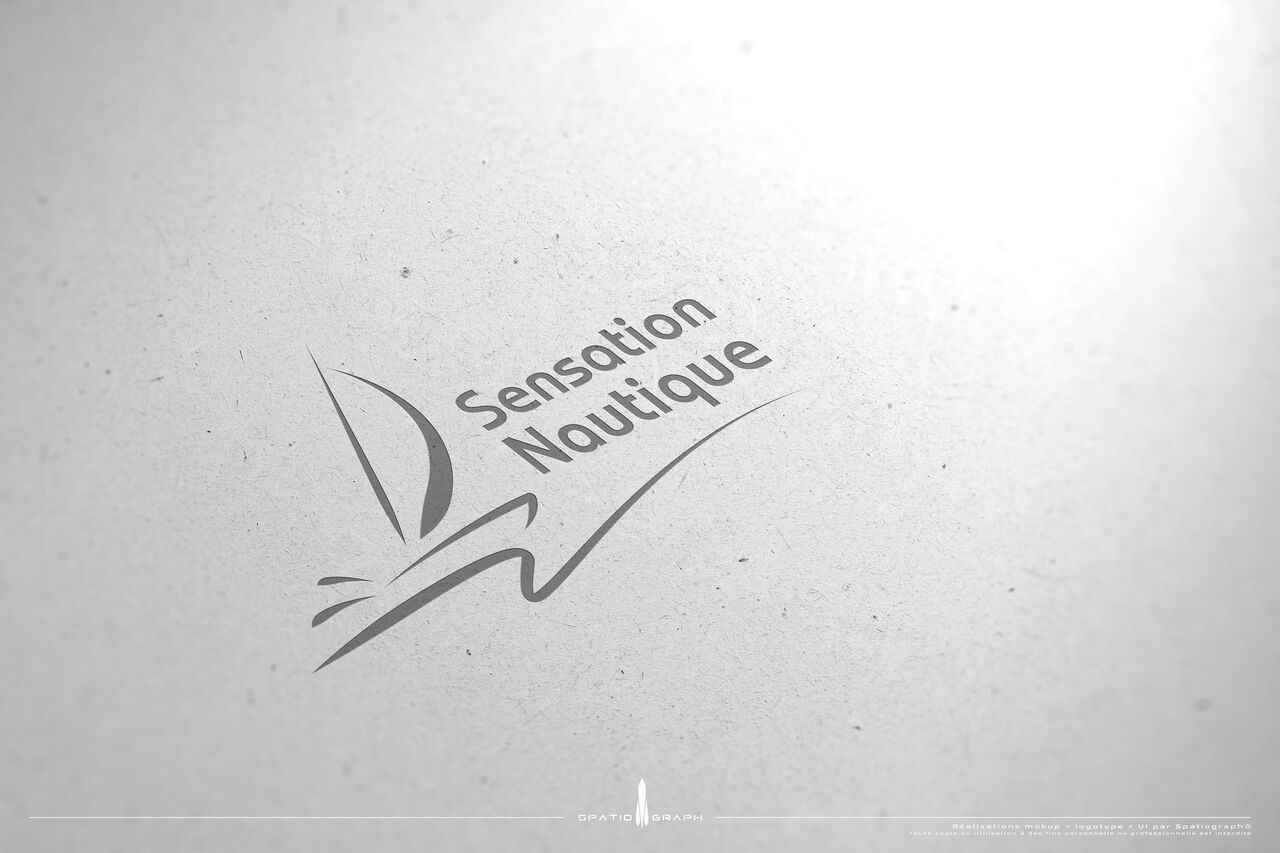 Etude logotype - Sensation nautique