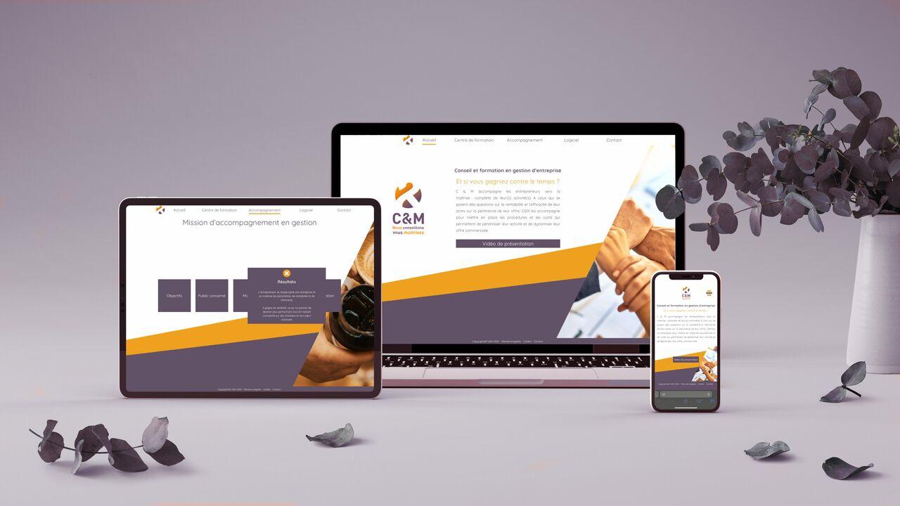 Site web - C&M