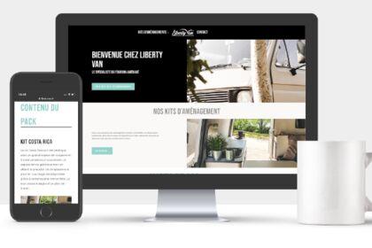 Site internet Liberty Van