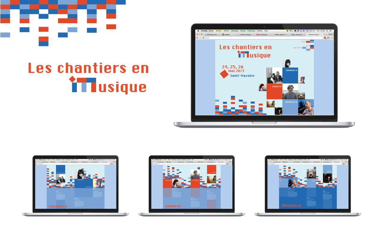 Design d'un site de présentation d'un festival